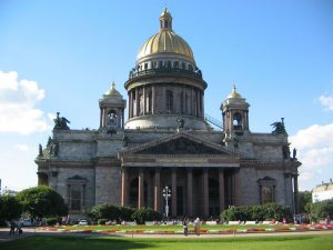 St Isaacs Cathedral - St Petersburg